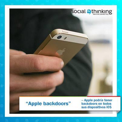Apple Backdoors