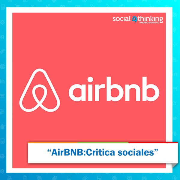AirBNB: Critica Sociales