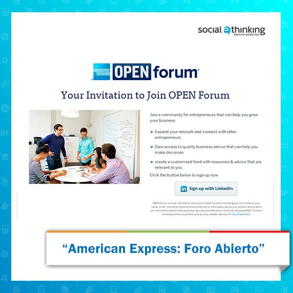 American Express: Foro Abierto