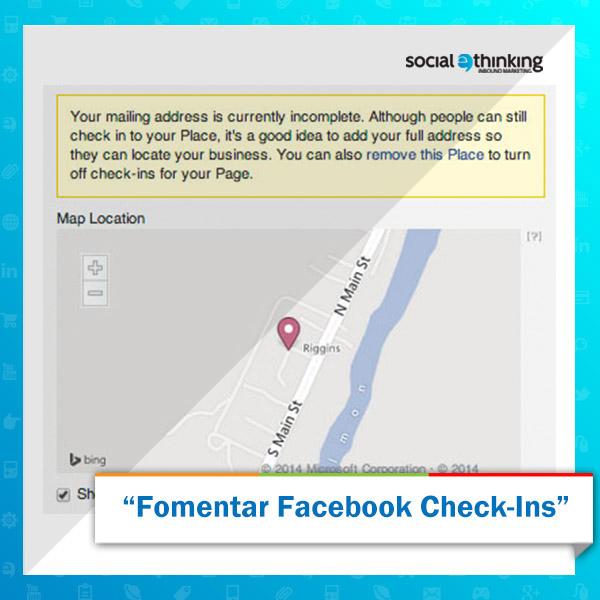 Fomentar el Registro de Facebook