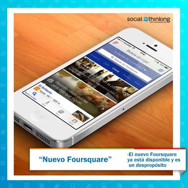 El nuevo Foursquare