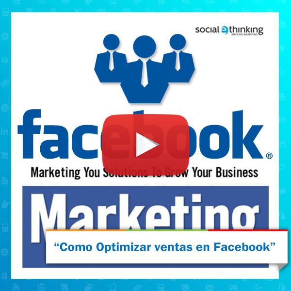 ¿Cómo optimizar ventas en facebook?