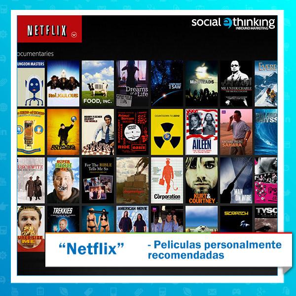 Netflix: Peliculas Personalmente Recomendadas
