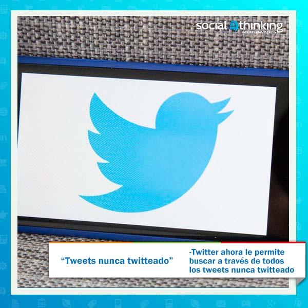 Tweets nunca twitteado